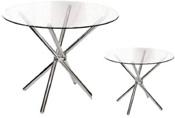 SafeKart CDTSS-3624G Metal 4 Seater Dining Table
