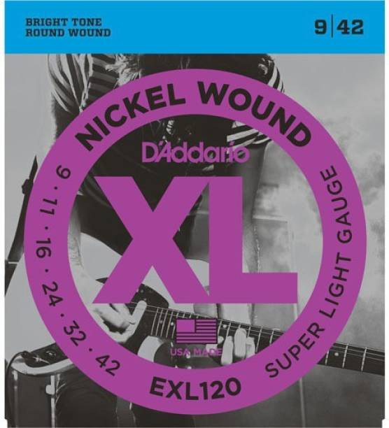 D'ADDARIO Electric EXL 120 Guitar String
