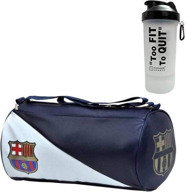 5 O' CLOCK SPORTS Men's Combo of Leather Gym Bag Gym & Fitness Kit