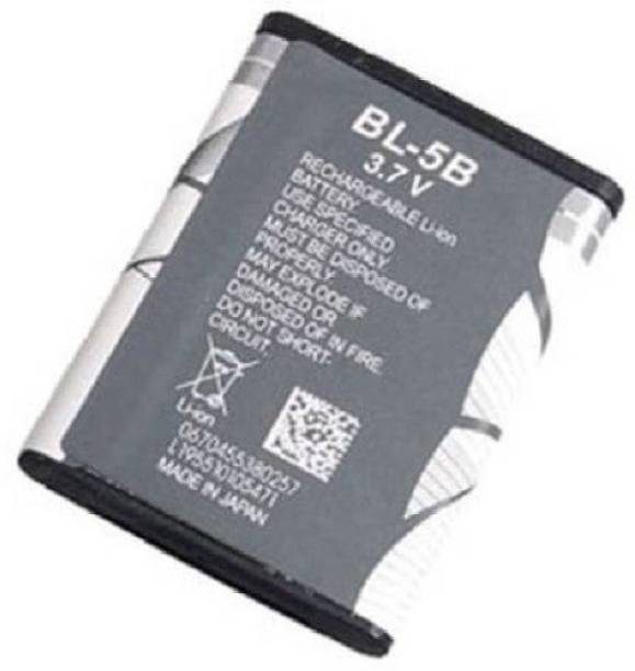 Pacificdeals Mobile Battery For  Nokia 3220, 3230, 5070, 5140, 5140i, 5200, 5300 XpressMusic, 5320 XpressMusic, 5500 Sport, 6020, 6021, 6060, 6070, 6080, 6120 classic, 6121 classic, 6124 classic, 7260, 7360 (BL5B) - 890mAh