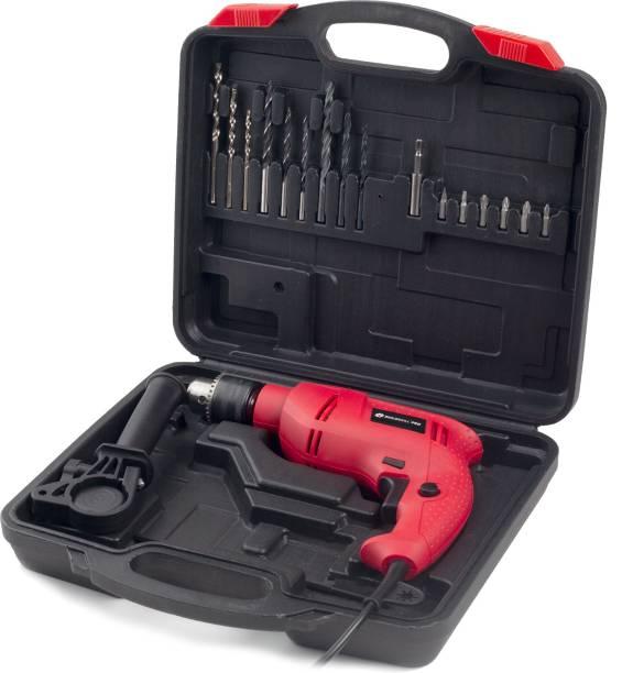 BUILDSKILL Pro BGSB13RE Hammer Drill Machine Kit with 20 pcs Accessories Power & Hand Tool Kit