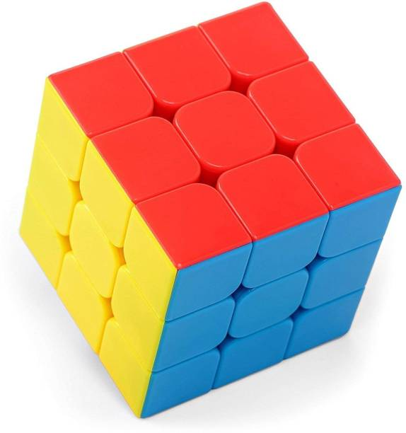 BVM GROUP 3*3 Speed Cube/Puzzle/Cube/ Stickerless Cube (1 Cube), Brainstorming Game Toy For kids , Indoor Game ,Best for Gift/Return Gift