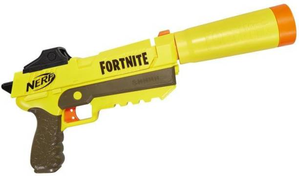 Nerf Fortnite SP-L Elite Dart Blaster with Detachable Barrel Guns & Darts