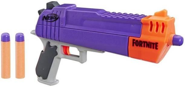 Nerf Fortnite HC-E Mega Dart Blaster, Includes 3 Mega Fortnite Darts Guns & Darts