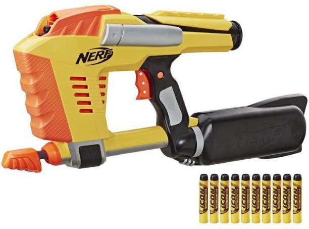 Nerf Magstrike N-Strike Air-Powered Toy Blaster, 50th Icon Series Guns & Darts