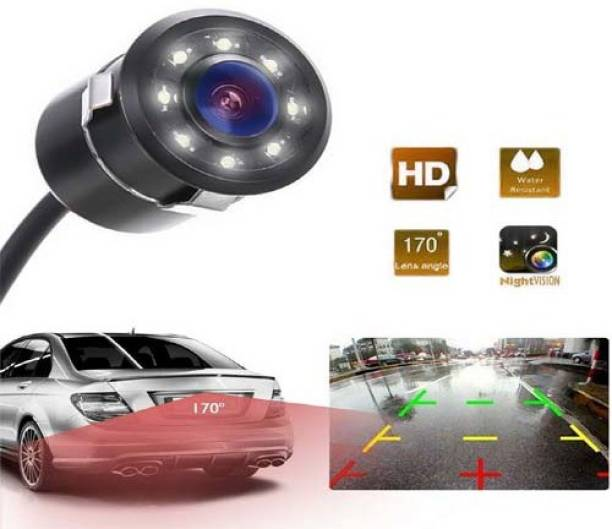Capeshoppers 8 Led Night Vision HD Camera Vehicle Camera System