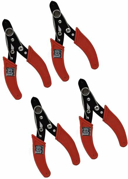 PagKis Pack of 4 Insulated Wire Cutter Strippers - 5 Inches Pack of 4 Insulated Wire Cutter Strippers - 5 Inches - 130 MM Wire Cutter