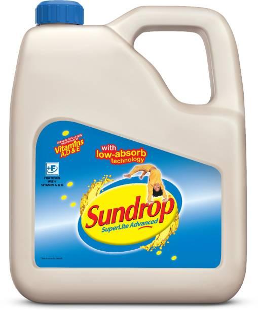 Sundrop Superlite Advanced Sunflower Oil Can