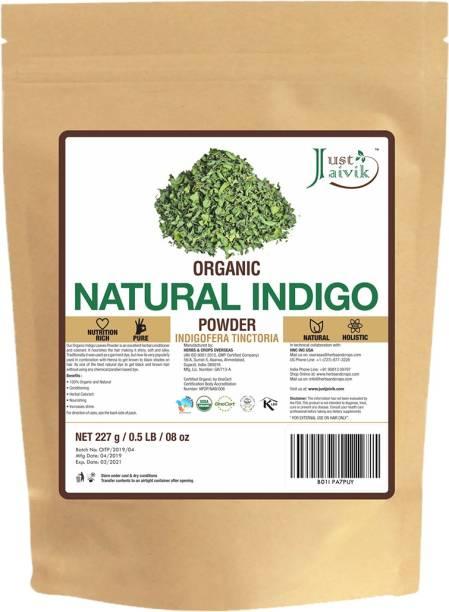 Just Jaivik Organic Indigo Powder