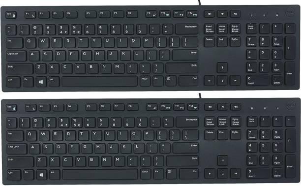 DELL USB KB216 2P Wired USB Multi-device Keyboard