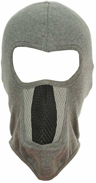 H-Store Grey Bike Face Mask for Men
