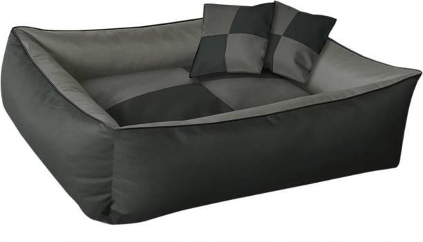 Hiputee Reversible & Rectangular Dog/Cat Bed (FOR SMALL BREEDS) Small S Pet Bed