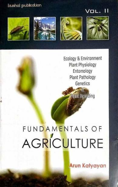 Fundamentals Of Agriculture Vol -2