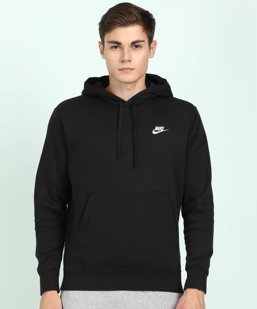 NIKE Full Sleeve Solid Men Sweatshirt