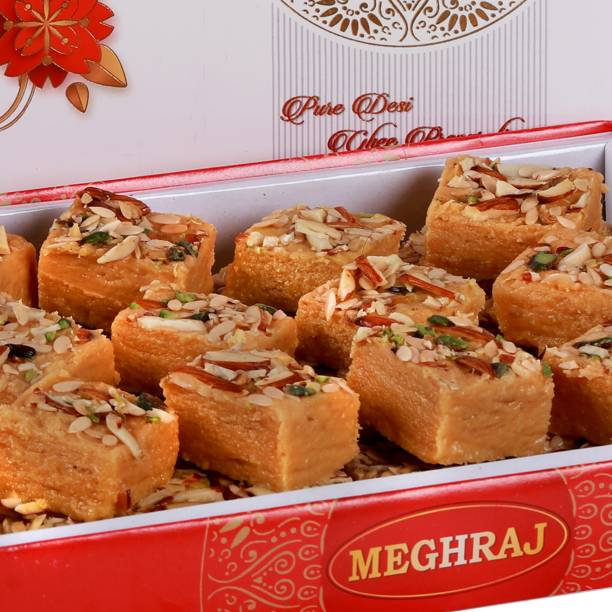 Meghraj Food Court Desi Ghee Patisa Festive Gift Box