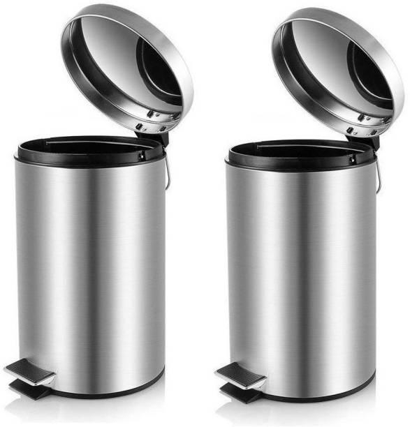 Mofna Stainless Steel Dustbin
