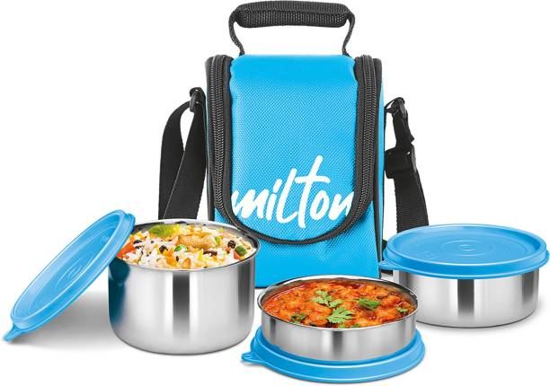 MILTON Tasty Lunch 3 3 Containers Lunch Box