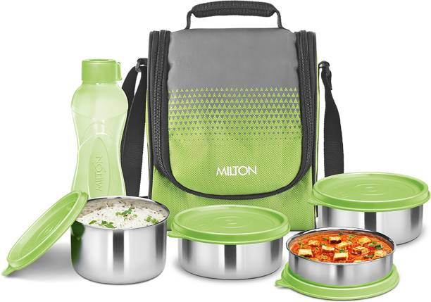 MILTON Tasty Lunch 4 Combo with Bottle 4 Containers Lunch Box