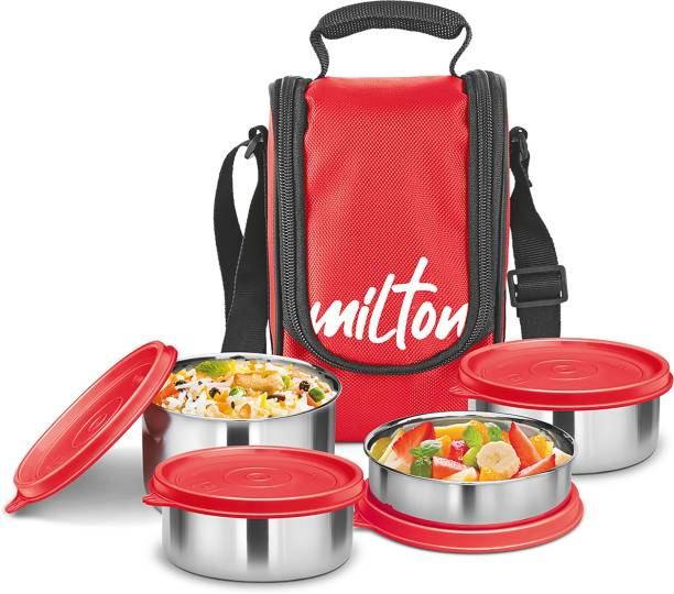 MILTON Tasty Lunch 4 4 Containers Lunch Box