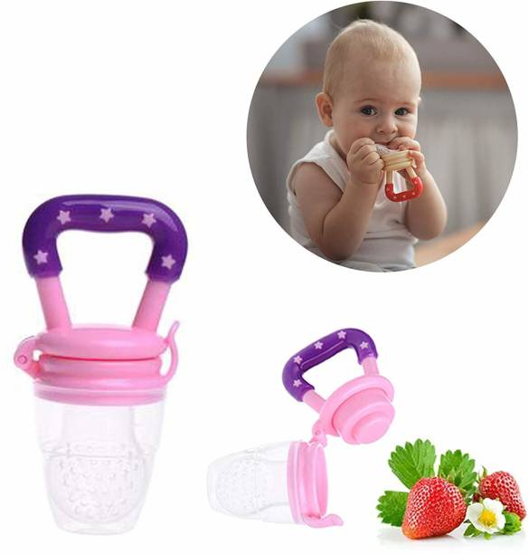 Baby Love (Little Angle) BPA Free Silicone Nipple Fresh Food Fruit Feeder Baby Feeding Soother