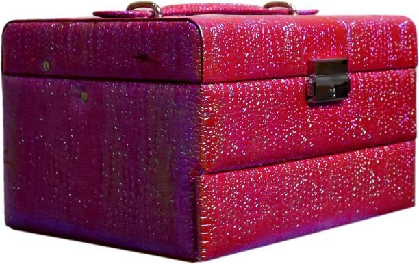 Pride STAR Olivgrer to store cosmetics Vanity Box