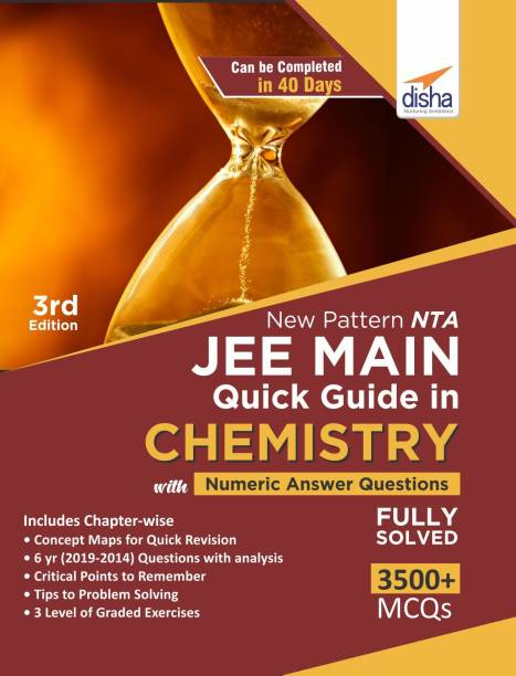 New Pattern NTA JEE Main Quick Guide in Chemistry with Numeric Answer Questions 3rd Edition