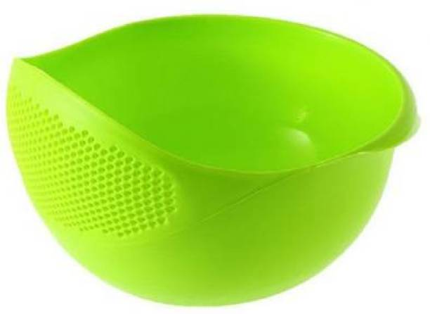 Savgyan High Quality Wash Rice Fresh Plastic Colorful Rinse Fruit Vegetables Basin Stainer & Sieve Bowl Drainer Kitchen Basket Collapsible Colander