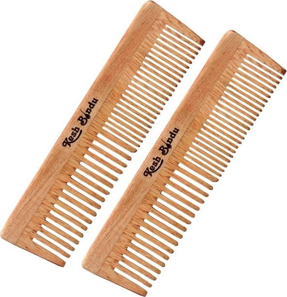 kesh Bindu Neem Wood Comb For Men And Women