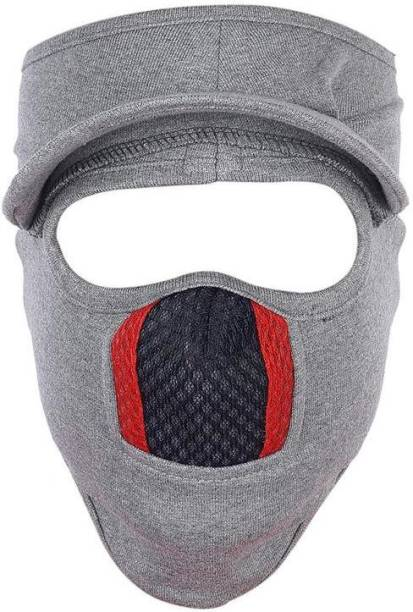 H-Store Grey Bike Face Mask for Men