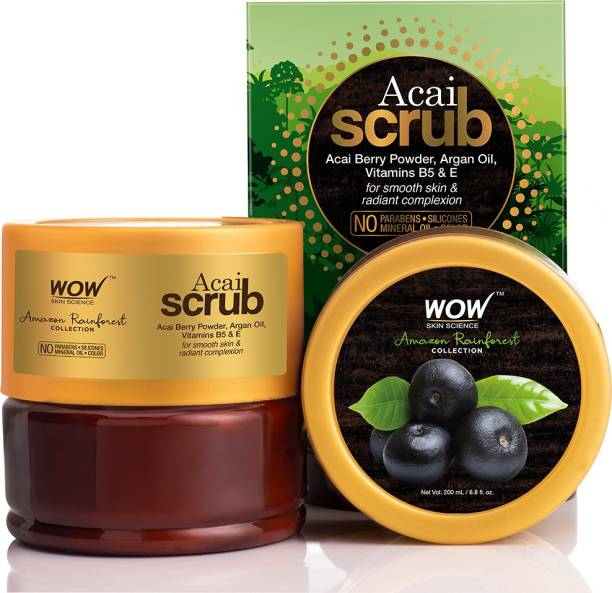 WOW SKIN SCIENCE Rainforest Collection - Rain Forest Acai  Scrub