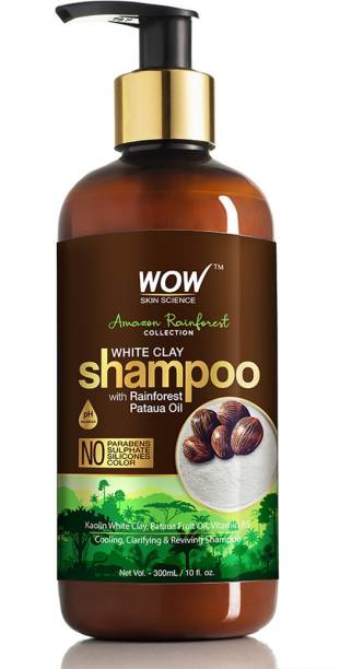 WOW SKIN SCIENCE Rainforest Collection - White Clay Shampoo