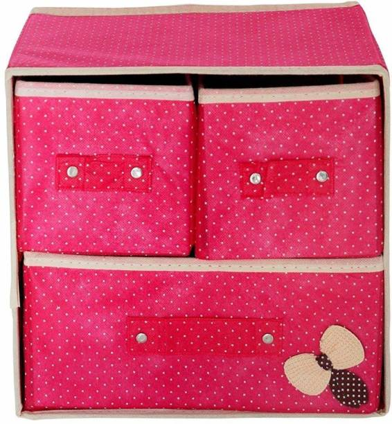 Divinext Fabric Free Standing Cabinet