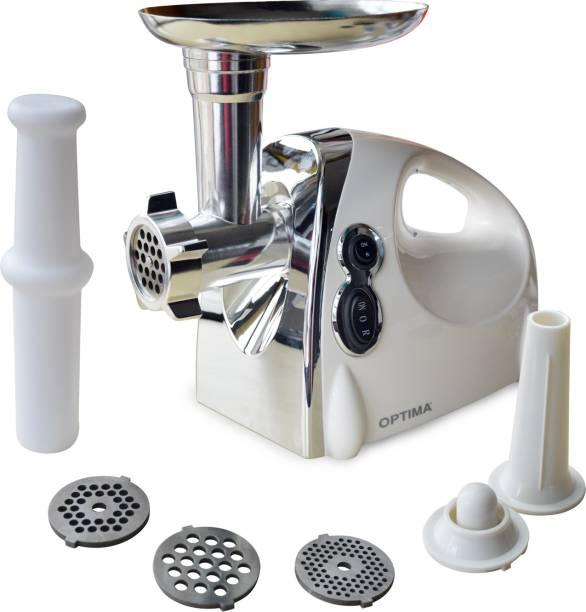 Optima MT 1000 Meat Mincer 1200 Mixer Grinder (White)
