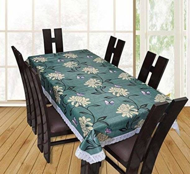 KARTIKEY Solid 8 Seater Table Cover