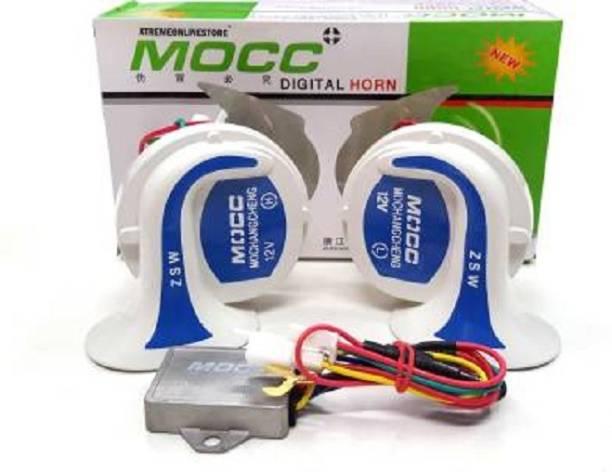MOCC Horn For Universal For Bike, Universal For Car Universal For Car, Universal For Bike