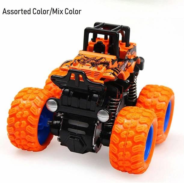 Tenderfeet 360 Degree Stunt Flipping Design Mini Monster Truck for Kids (Multicolor Colour)