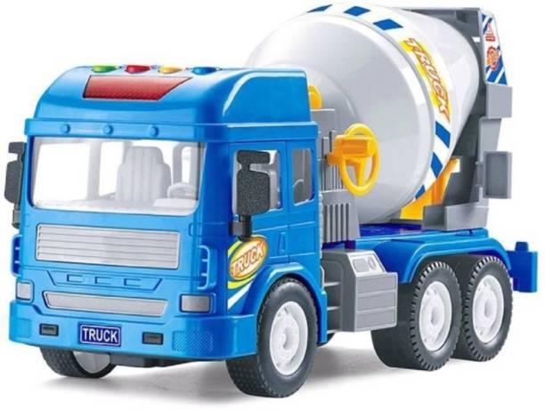 Trendegic Cement Mixer Construction Truck Toy for Boys