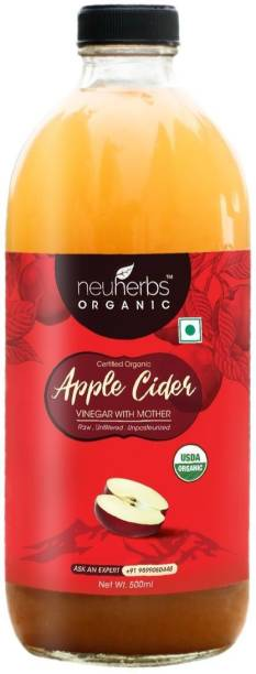 NEUHERBS Organic Apple Cider Vinegar With Mother Vinegar