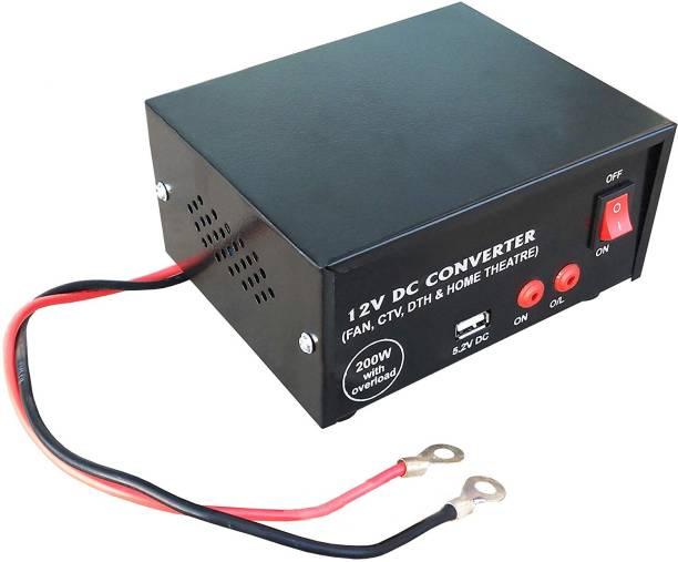 ERH India USB DC to AC Converter Worldwide Adaptor