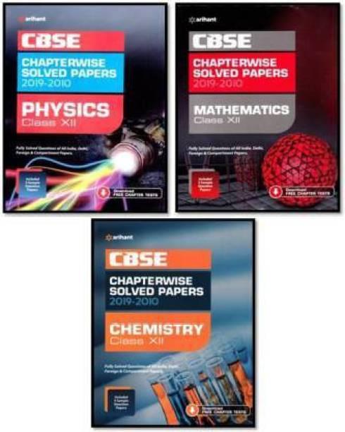 ARIHANT CLASS 12 CBSE CHAPTERWISE-TOPICWISE 2019-2010 (PHYSICS, CHEMISTRY, MATH)ARIHANT 10 YEAR CBSE Champion CHAPTERWISE-TOPICWISE PCM(PHYSICS,CHEMESTRY,MATH)COMBO 3 IN ONE (English Medium,PaperBack, ARIHANT)CBSE 2020 (10 Year Solved Papaer PCM (Papar Back,ARIHANT CBSE)12 Th Chapterwise SOLVED PAPERS(Cbse Chapterwise Solved Papers)(Paperback,Arihant Books,2019)
