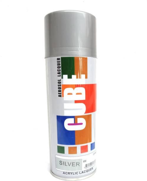 CUBE Silver Spray Paint 600 ml