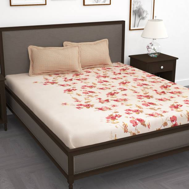 Story@home 186 TC Cotton Double Printed Bedsheet