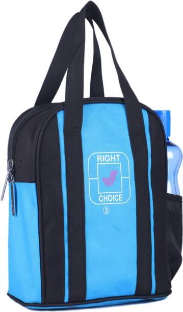 RIGHT CHOICE office tiffin bag for all men women boys & girls stylish lunchbag handbag black sky blue (3004) Waterproof Lunch Bag