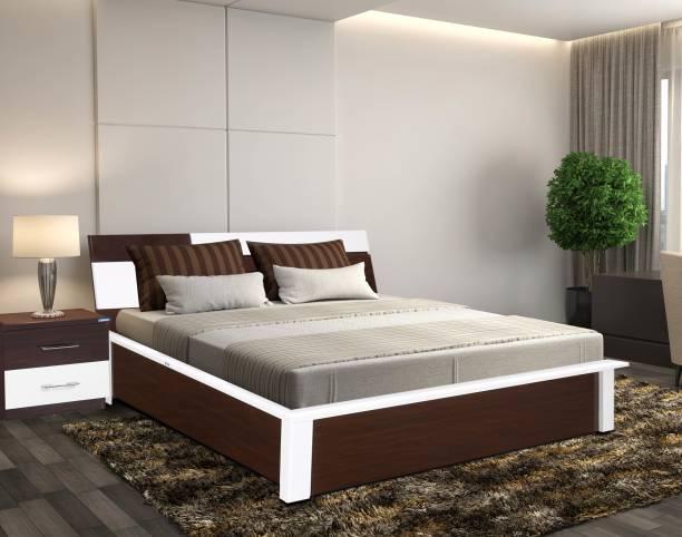 Nilkamal Tristar Engineered Wood Queen Hydraulic Bed