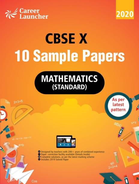 Cbse 2020 Class X 10 Sample Papers Mathematics 3 Edition
