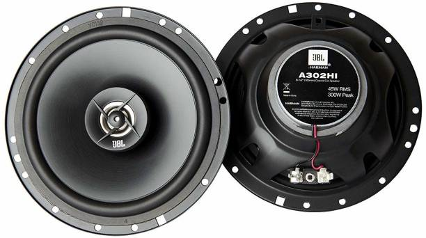 JBL 6 1/2 Inch (16.5Cms) - 300 Watts Peak - 45 Watts RMS A302HI Coaxial Car Speaker