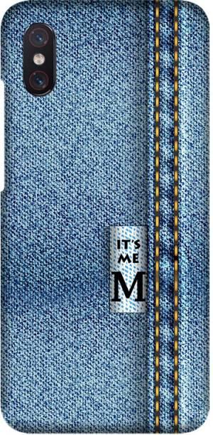 CASEMANTRA Back Cover for Xiaomi Mi 8 Pro, M1807E8A - Zodiac Jeans Print