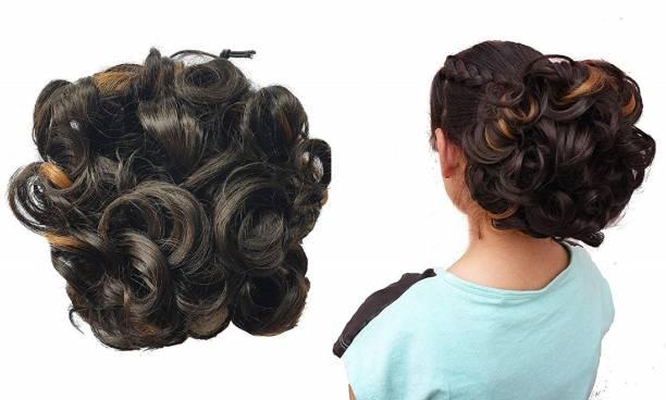 Foreign Holics Synthetic Artificial Juda Hair Bun Bun