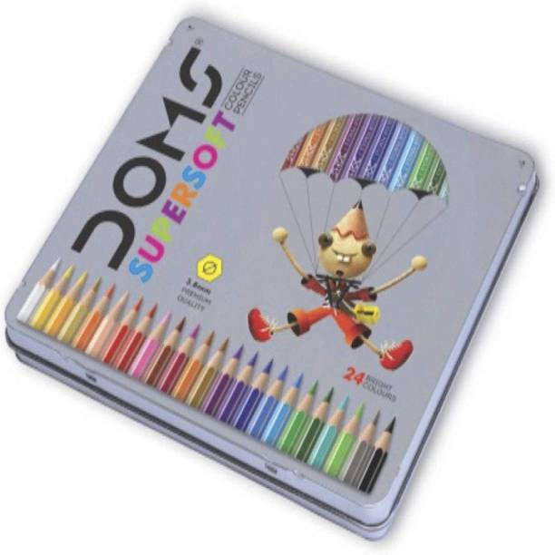 DOMS supersoft colour pencils 24 shades Pencil