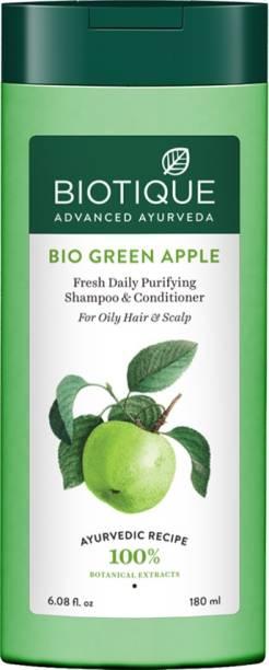 BIOTIQUE Bio Green Apple Shampoo 180 ml